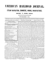 American Railroad Journal June 30, 1849