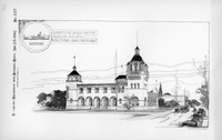 Competitive Design for the Missouri Building, 1904 World's Fair