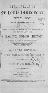 Gould's St. Louis Directory, for 1887. (For the Year Ending April 1st, 1888.)