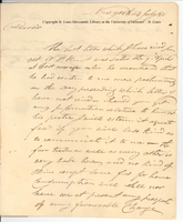 Letter from John Jacob Astor to Charles Gratiot, July 24, 1811