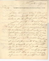 Letter from John Jacob Astor to Anthony Charles Cazenove, July 11, 1813