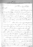 Letter from William Clark to Colonel Thomas Hunt, May 15, 1807