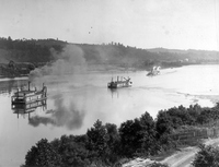 Ohio River, Dredging at Mill Creek Bar