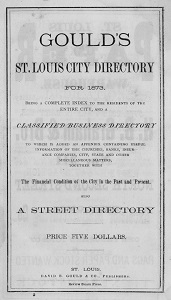 Gould's St. Louis City Directory for 1873