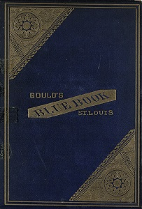 Gould's Blue Book, for the City of St. Louis. 1887. Vol. V. For the Year Ending November 15th, 1887