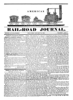 American Rail-Road Journal, Volume 1, Number 5