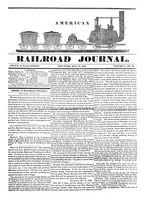 American Railroad Journal, Volume 1, Number 21
