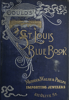 Gould's Blue Book, for the City of St. Louis. 1892. Vol. X. For the Year Ending November 15th, 1892
