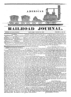 American Railroad Journal, Volume 1, Number 35