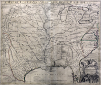A Map of Louisiana and the River Mississipi
