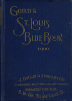 Gould's Blue Book, for the City of St. Louis. 1900