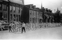 Parade Down Ninth Street, 1940