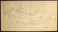 Map of the Mississippi River from Pain-Court to Cold Water Rock