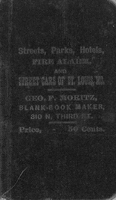 Street Railway, Hotel and Park Guide of the City of St. Louis