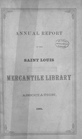 Twentieth Annual Report of the Board of Directors of the St. Louis Mercantile Library Association