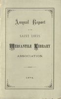 Twenty-Ninth Annual Report of the Board of Directors of the St. Louis Mercantile Library Association