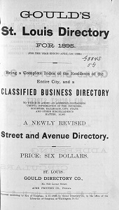 Gould's St. Louis Directory, for 1895 (For the Year Ending April 1st, 1896)