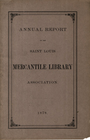 Thirty-Third Annual Report of the Board of Directors of the Saint Louis Mercantile Library Association