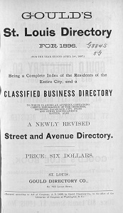 Gould's St. Louis Directory, for 1896 (For the Year Ending April 1st, 1897)