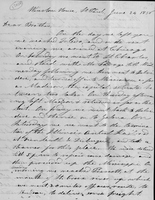 P-046 William Charles Redfield Letter