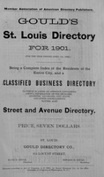 Gould's St. Louis Directory for 1901