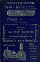 Directory of Stationary Engineers of the City of St. Louis and State of Missouri