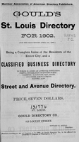 Gould's St. Louis Directory for 1902
