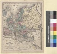 Map of Europe (1853)