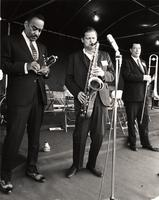 Buck Clayton, Zoot Sims, and Cutty Cutshall