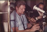 Zoot Sims and a guitarist play