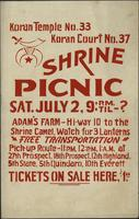 Shrine Picnic