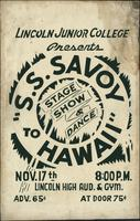 S.S. Savoy to Hawaii
