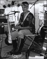 King Clarentz at the 2001 Kansas City Blues & Jazz Fest