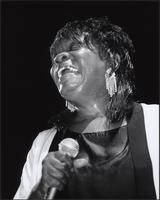 Koko Taylor at the 2001 Kansas City Blues & Jazz Fest