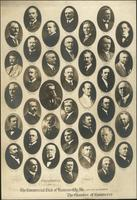 Presidents of the Commercial Club of Kansas City, Missouri, and its successor, the Chamber of Commerce