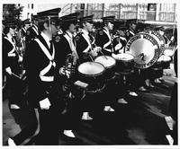 MU's Marching Band in the 1969 Homecoming Parade