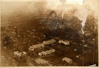 Aerial view of UMC's White (East) Campus, 1919