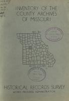 Inventory of the County Archives of Missouri, Pettis County