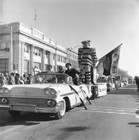 1963 Homecoming Parade Draws Crowds in Downtown Columbia