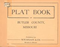 Plat Book of Butler County, Missouri
