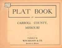 Plat Book of Carroll County, Missouri