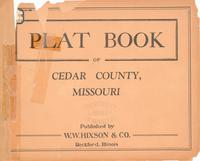 Plat Book of Cedar County, Missouri