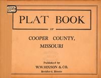 Plat Book of Cooper County, Missouri
