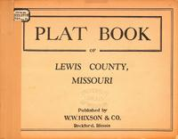 Plat Book of Lewis County, Missouri