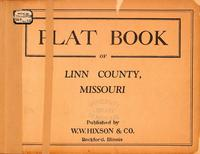 Plat Book of Linn County, Missouri