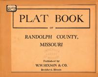 Plat Book of Randolph County, Missouri