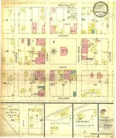 Bowling Green, Missouri, 1886 May, sheet 1