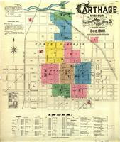 Carthage, Missouri, 1888 December, sheet 1