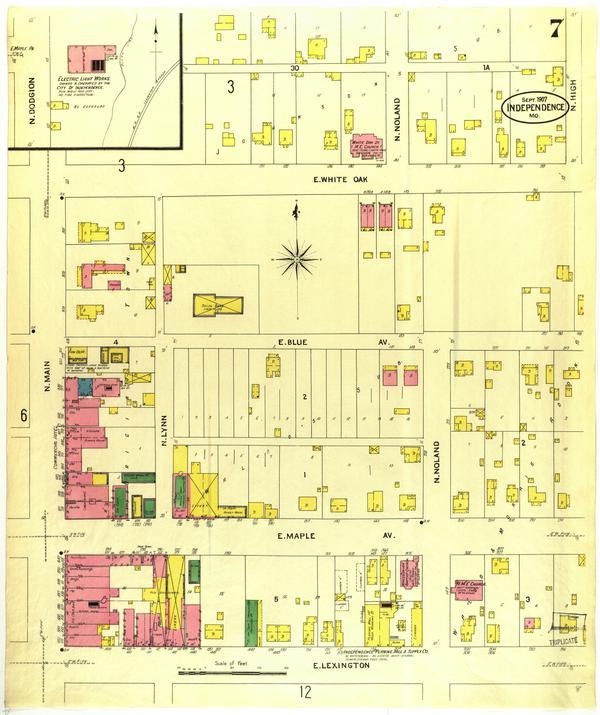 Independence Missouri 1907 September Sheet 07 Mu Digital