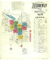 Moberly, Missouri, 1899 May, sheet 01